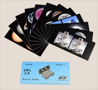 Astronomical 3-D cards