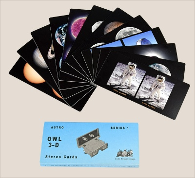 Astronomical 3-D Cards - Series 1
