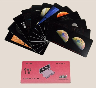 Astronomical 3-D Cards - Series 2