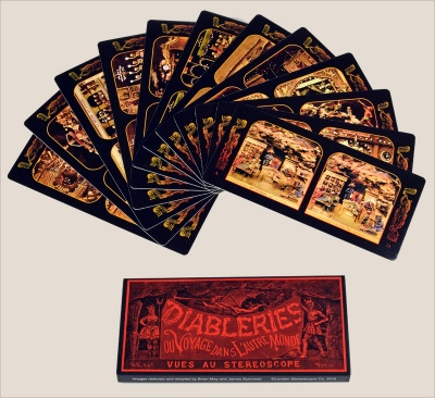 Diableries Stereo Cards - Series A [13-24]