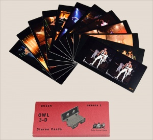 Queen Stereo Cards - Set 2