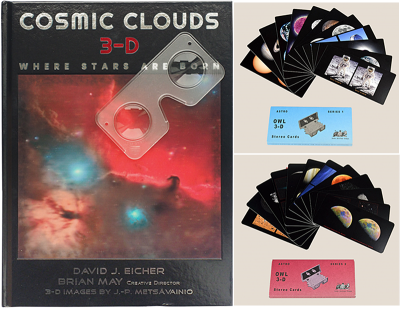 Cosmic Clouds 3-D + Astro Cards [Sets 1 + 2] Bundle