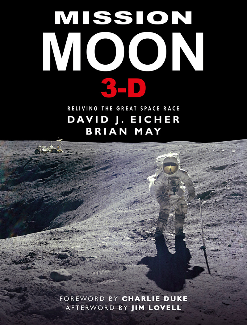 MISSION MOON 3-D, Reliving the Great Space Race